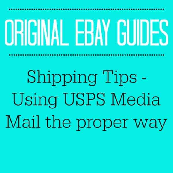 SHIPPING TIPS - USING USPS MEDIA MAIL THE PROPER WAY!