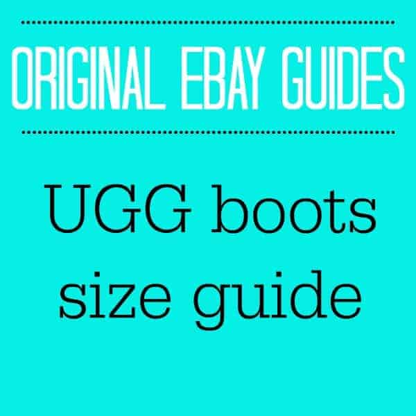 UGG BOOTS SIZE GUIDE