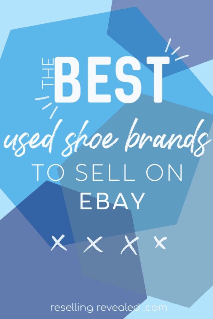 how to sell used shoes on eBay