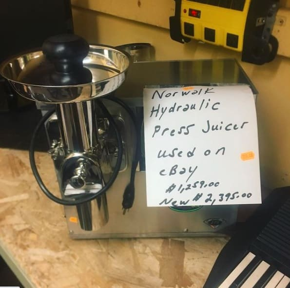 ebay selling tips juicer example