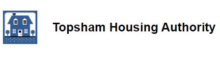 Logo for Topsham Housing Authority.