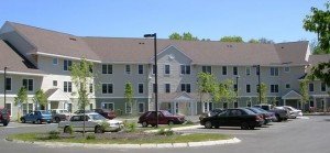 Creekside Village senior housing and a GBHC completed project.