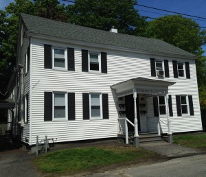 THA Property on Green Street, Topsham  includes four two-bedroom apartment units.