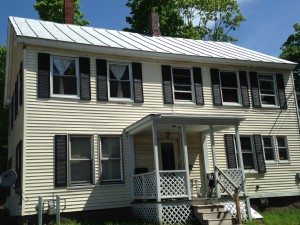 THA Property on Main Street, Topsham  includes three apartments.