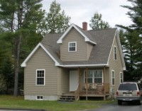 Two story home in the Harriet Way subdivision, Greater Brunswick area, Maine.
