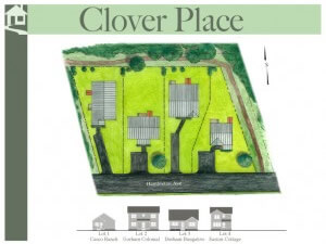 Clover Place is a four home subdivision and a recent GBHC Completed Project.
