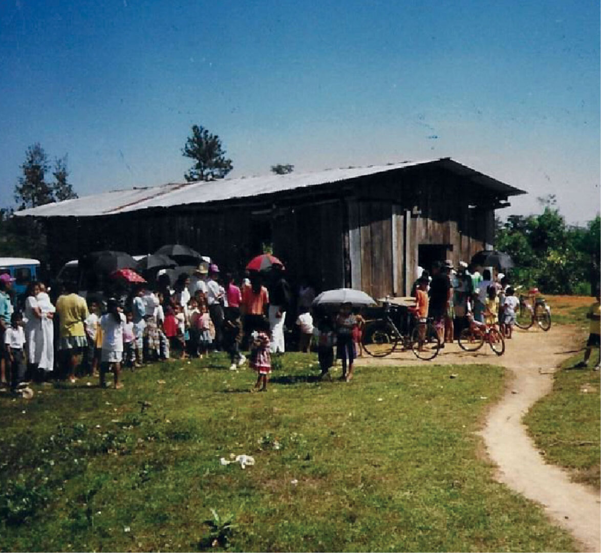 Before Clinic Was Built