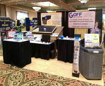 2015 Home Show Booth