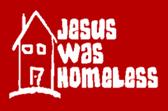 Jesus Was Homeless Logo