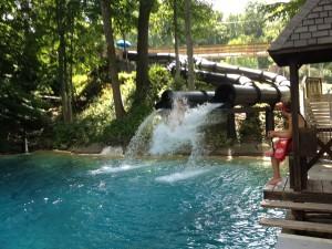 Mountain Creek Water Park Cannonball Falls