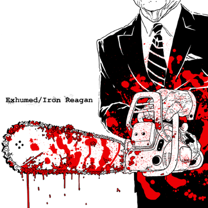 exhumed/iron reagan