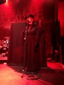 Soprano singer Veronica Bordacchini - Fleshgod Apocalypse