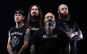 Crowbar, from left: Tommy Buckley (drums), Matt Brunson (guitar), Kirk Windstein (guitar/vocals), and Jeff Golden (bass).  Photo by Zack Smith.