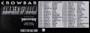 crowbar tour