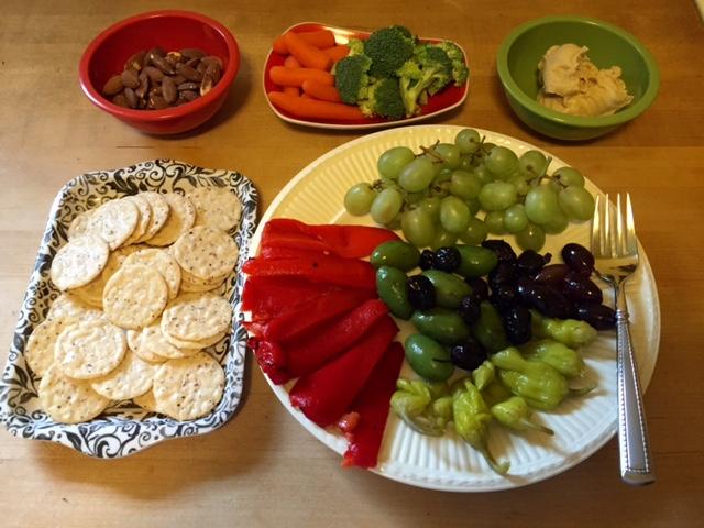 healthy football snacks