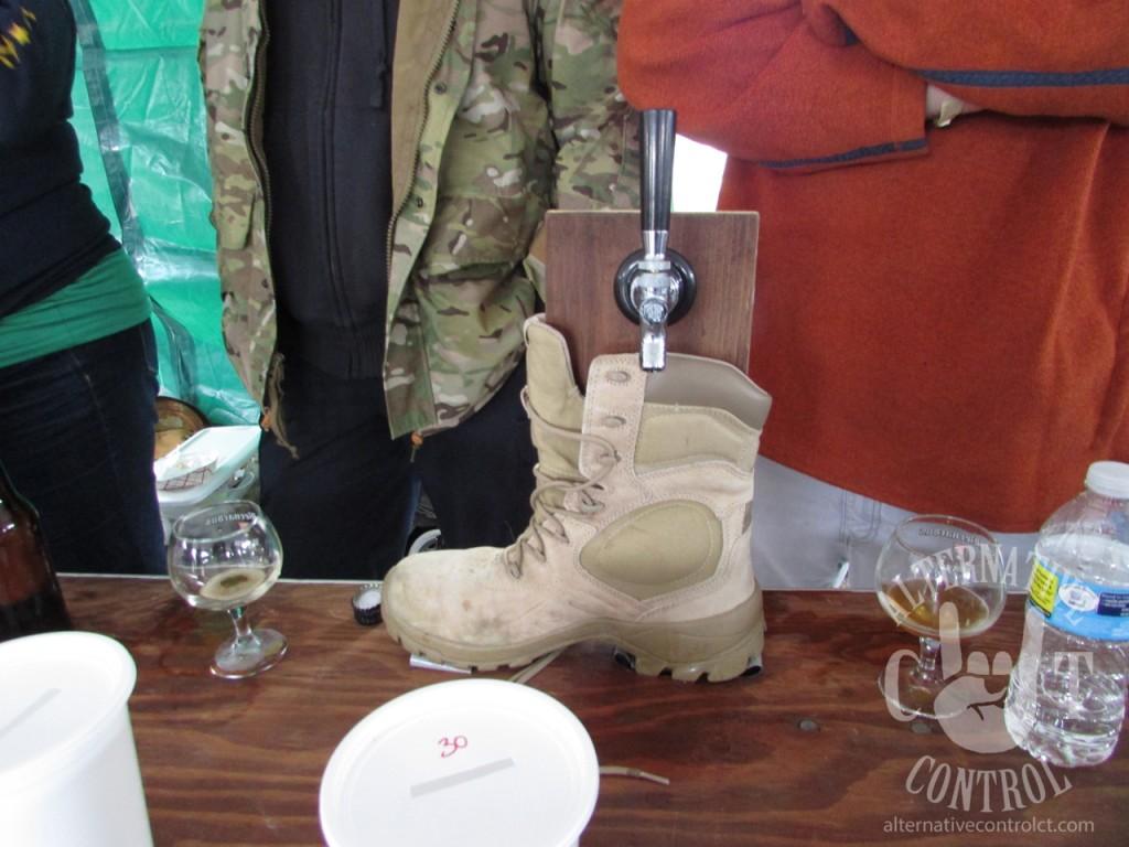 Center Mass Brewery Boot