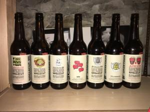 Singlecut Beersmiths Bottle Collection