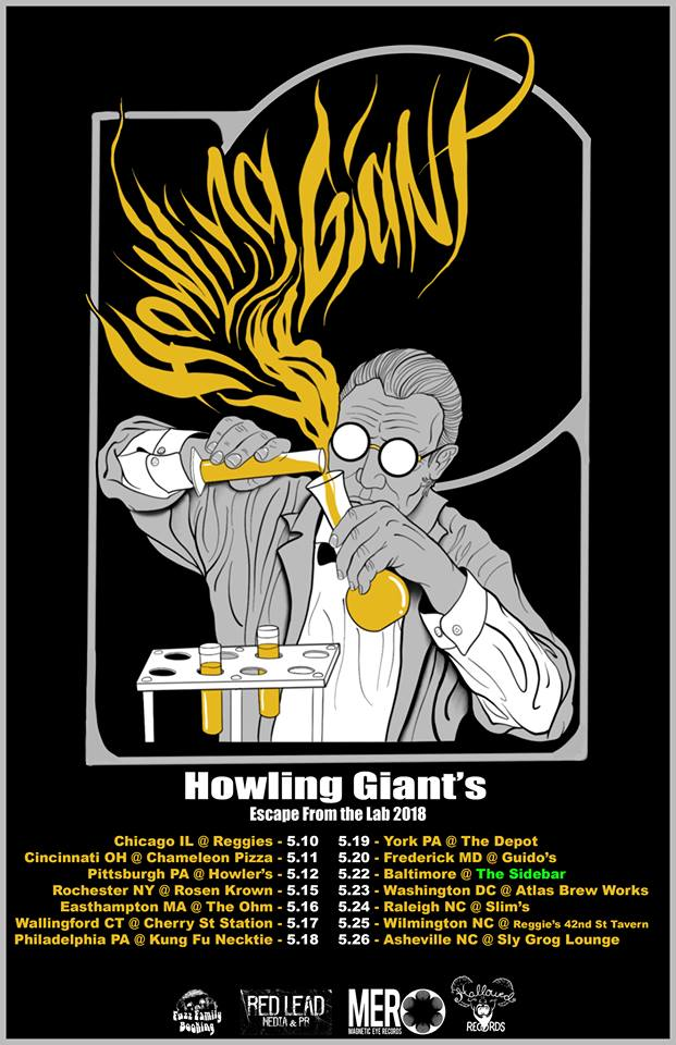 howling giant tour poster