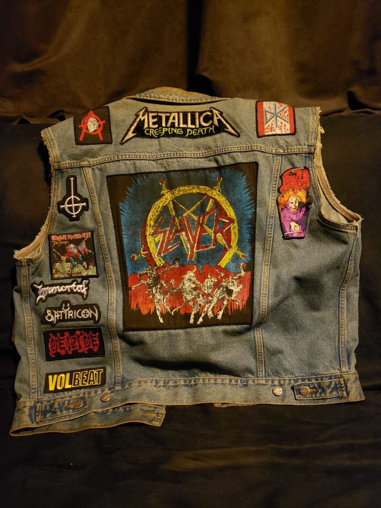 dread these days battle vest back