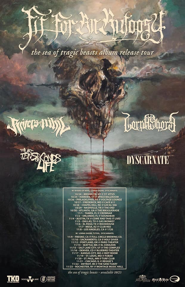 fit for an autopsy tour flier
