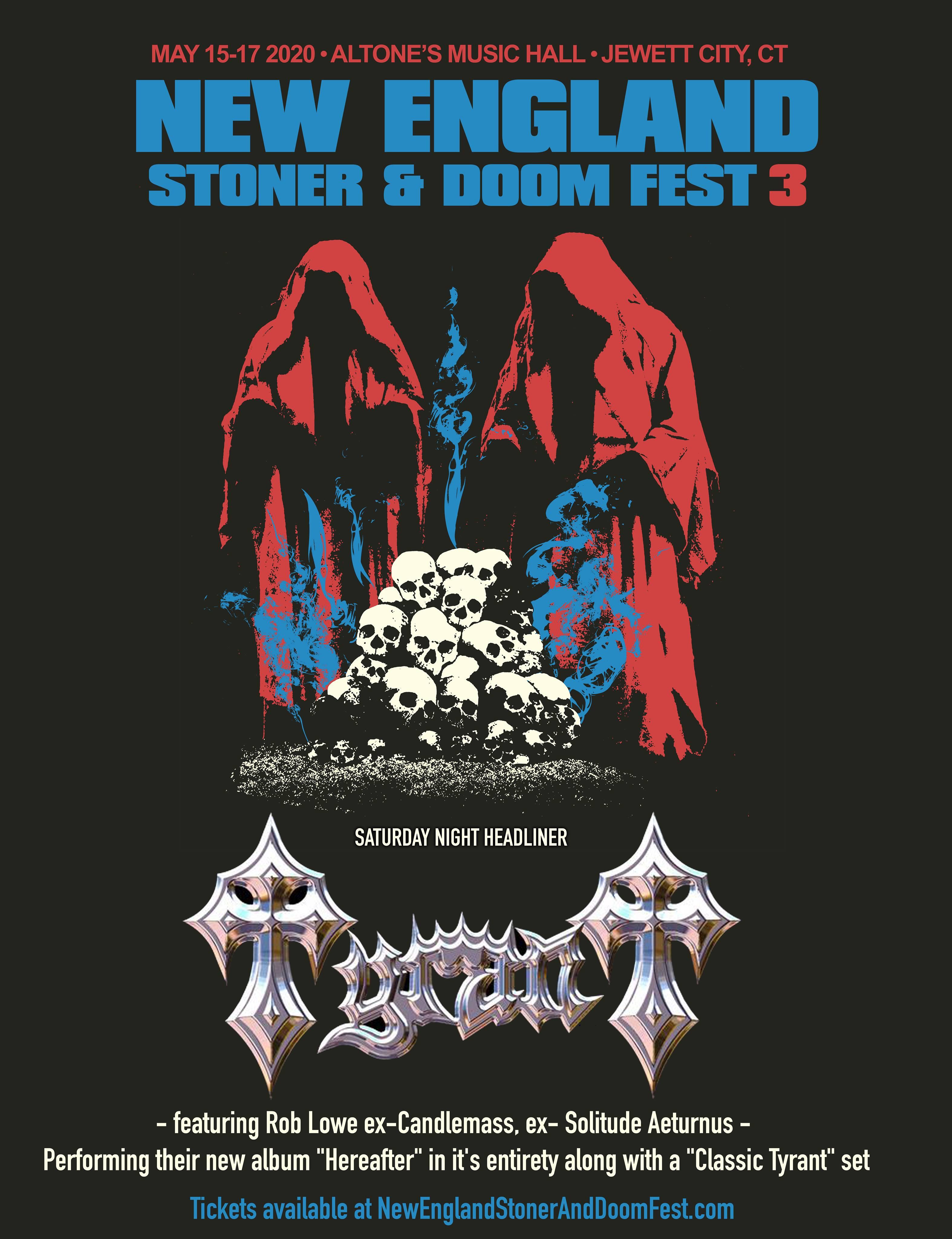 tyrant new england stoner doom fest 2020