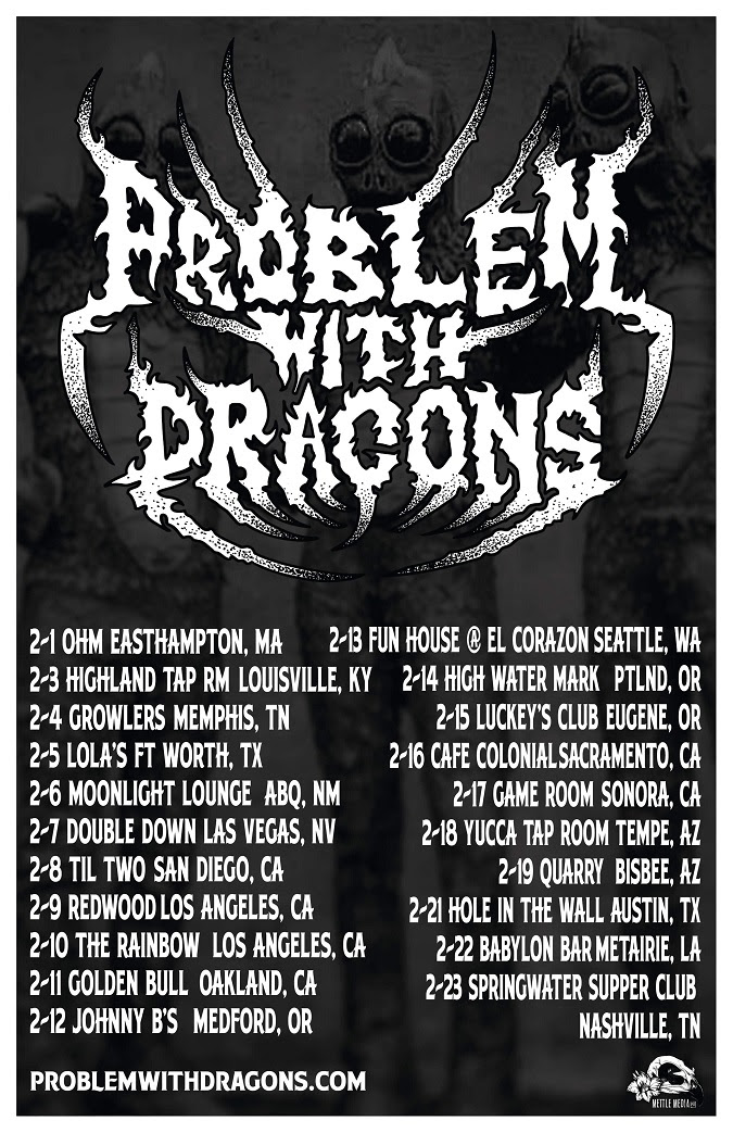 problem with dragons winter 2020 tour