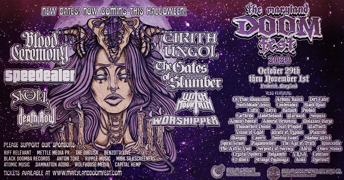 maryland doom fest 2020 rescheduled