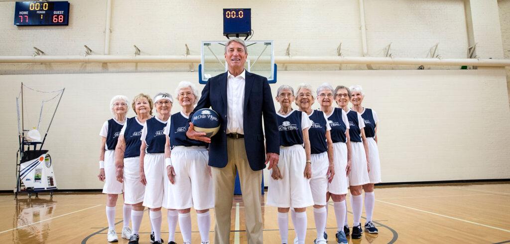McCrite Senior Living Women's Basketball Team
