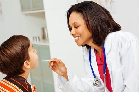 Pediatrician checkup
