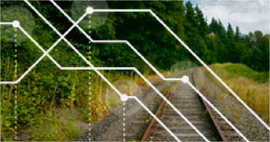Lower rail track inspection costs