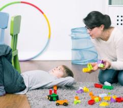 Child not behaving properly