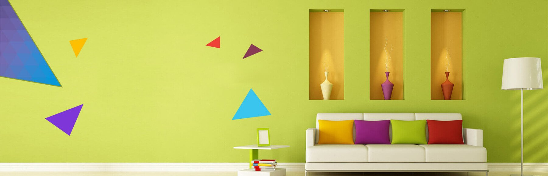 Heavenly Coverings Paintings Services Company in USA Banner