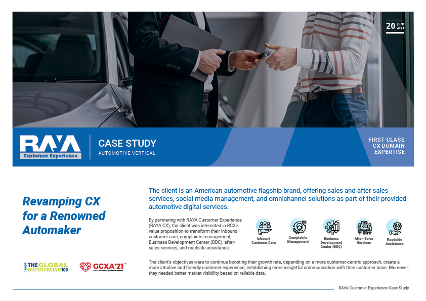 Revamping CX for a Renowned Automaker