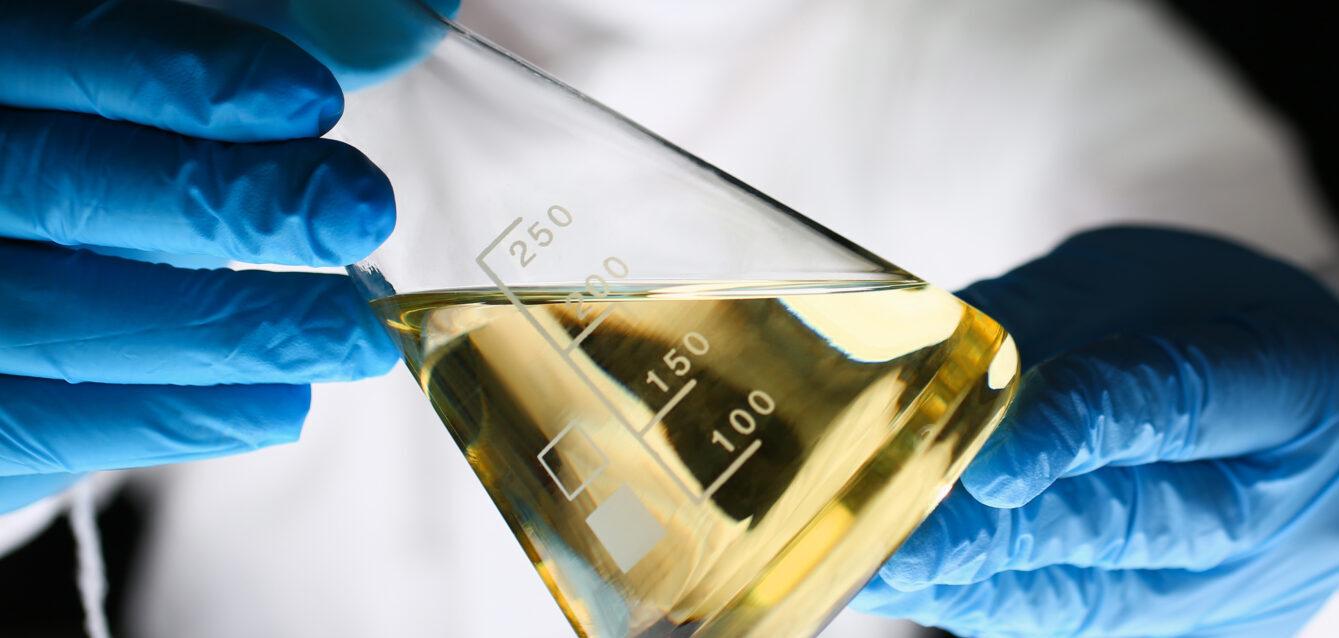 Flask oil crop