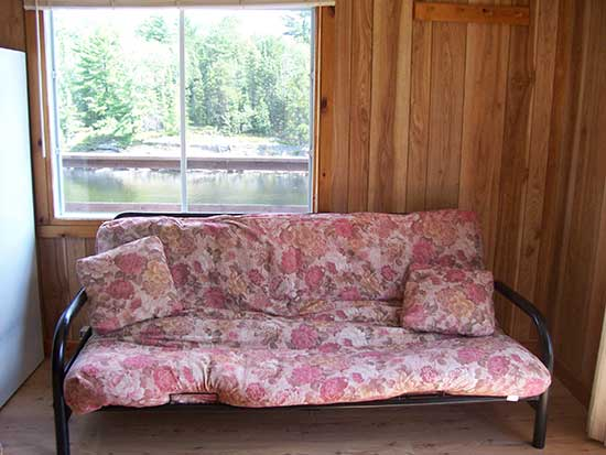 Relaxing, French River Cottages, Bear's Den Lodge Bayview