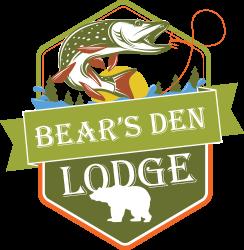 Bear's Den Lodge Logo, Fishing French River