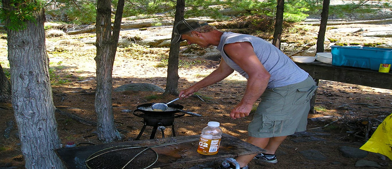 Guided Wilderness Adventure Tours, Fishing French River, Go Fish in Ontario, Bear's Den Lodge