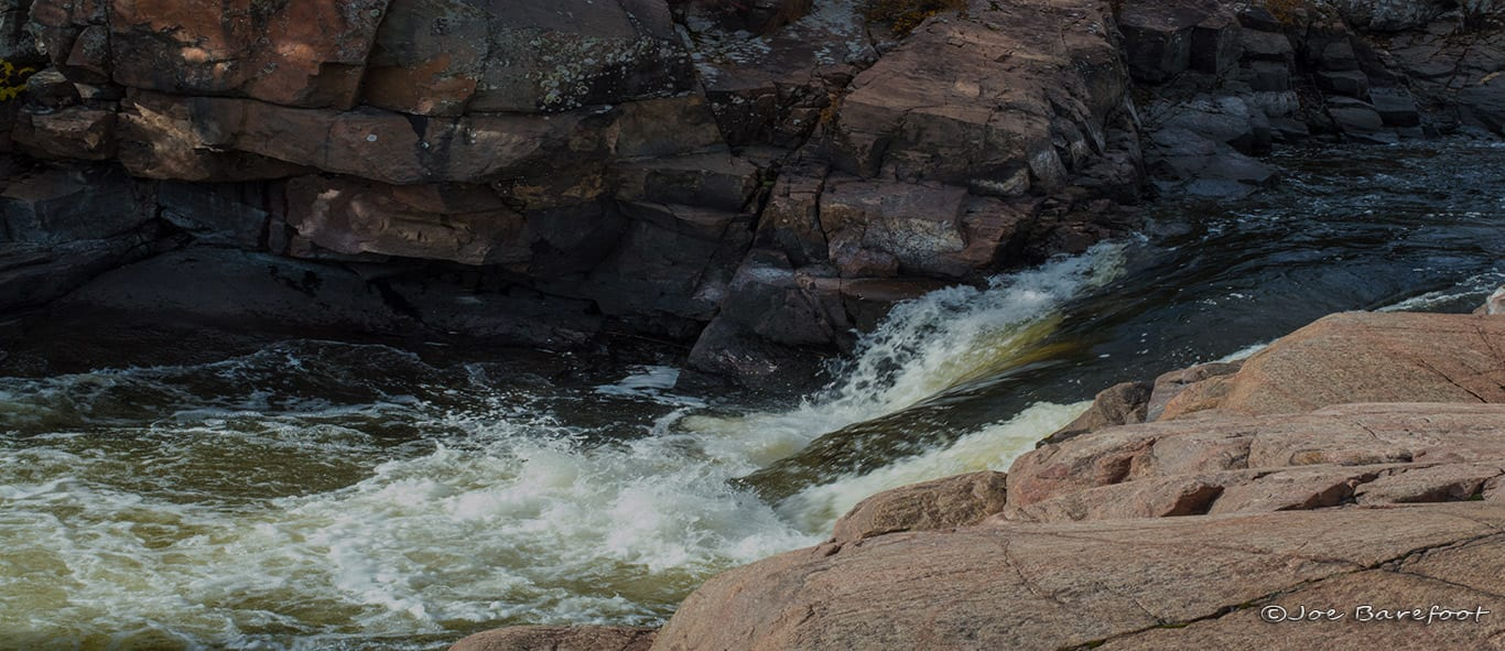 Sturgeon Chutes Waterfall French River Landscape Photo