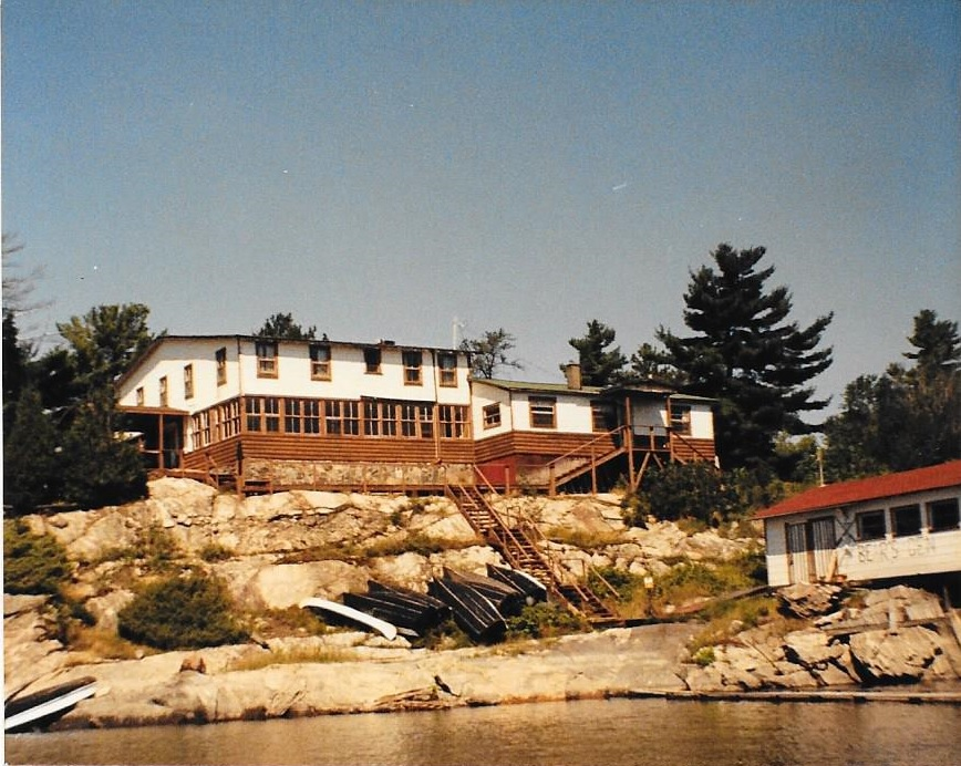 Bear's Den Lodge 1970s - 1980s on the French River Delta, French River Provincial Park Ontario Parks Canada