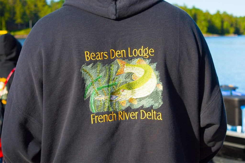 Bear's Den Lodge custom apparel