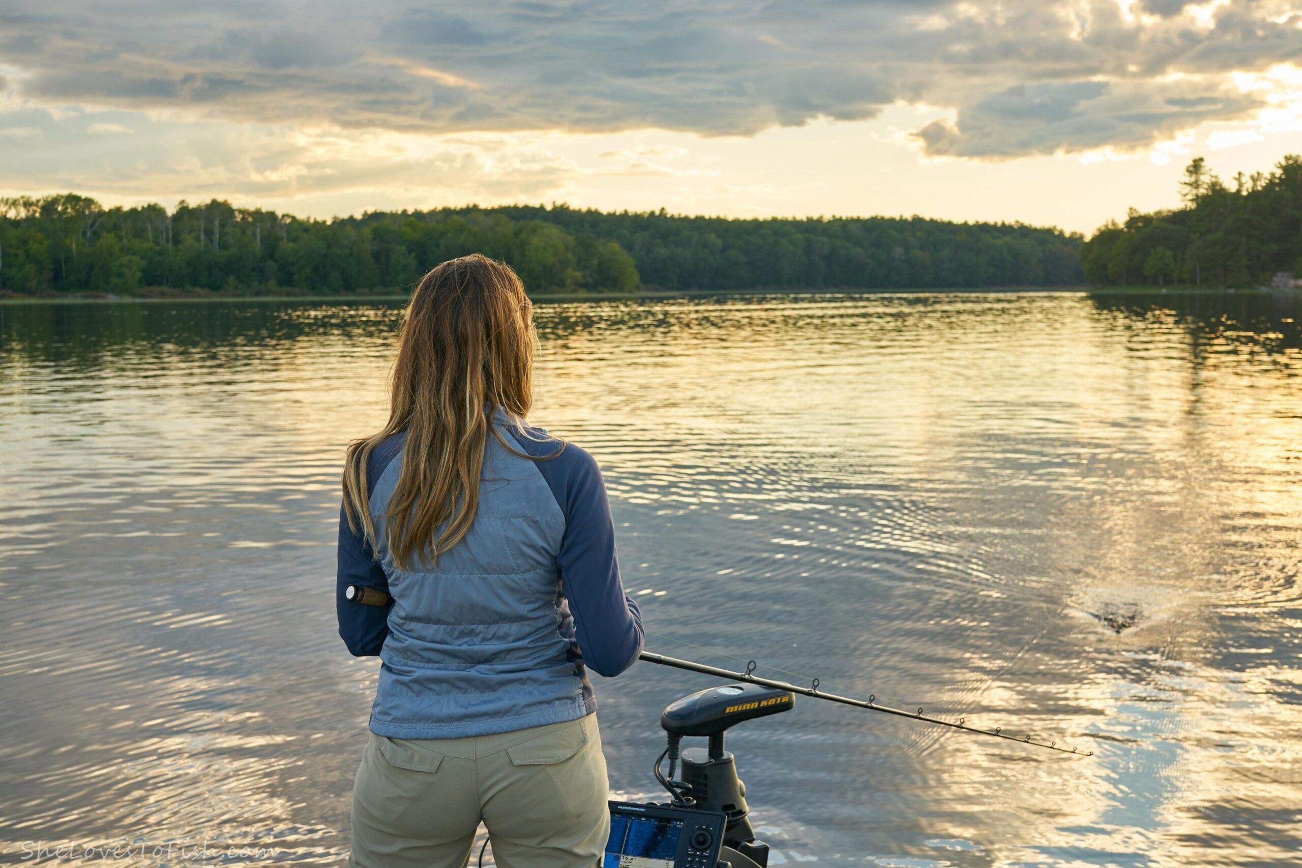 Ashley Rae, SheLovesToFish, French River Landscape, Northern Ontario Provincial Park, Fishing Canada