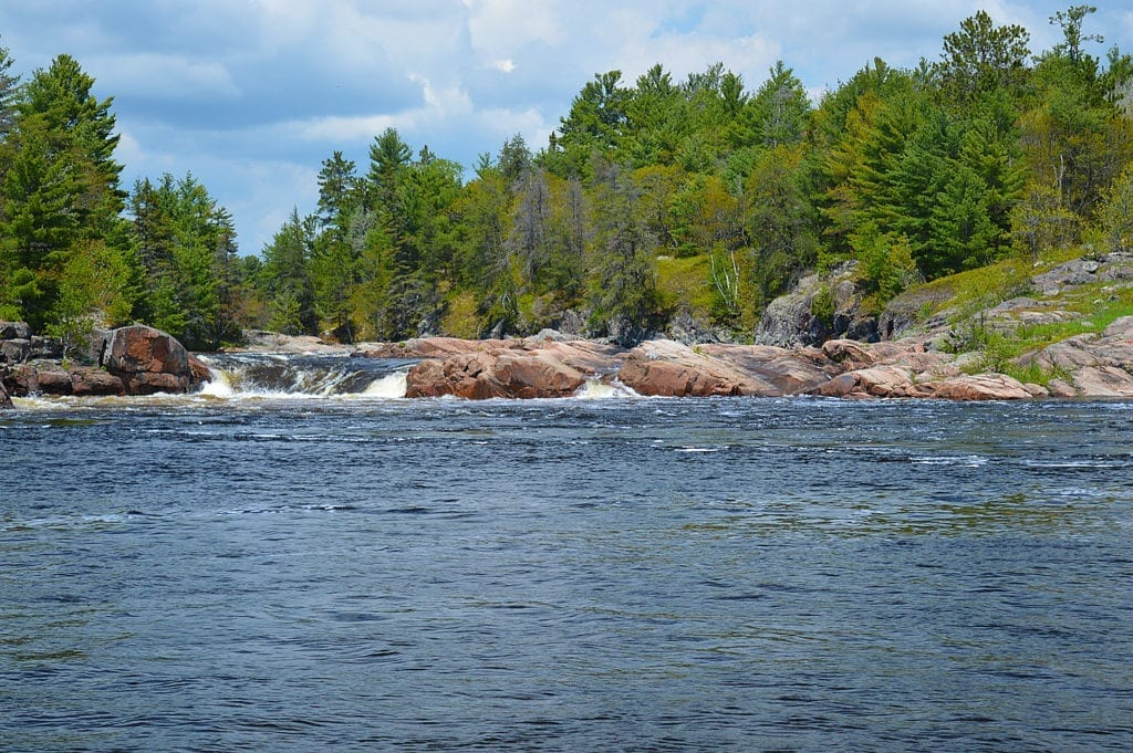 Sturgeon Chutes French River Provincial Park Ontario Canada, Spring 2017, Canadian Wilderness