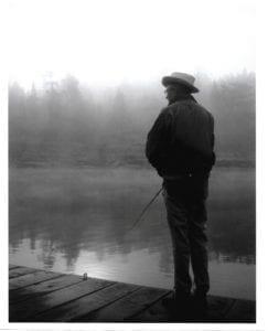 Dr. Robert M. Johnson, Fishing French River, Bear's Den Lodge