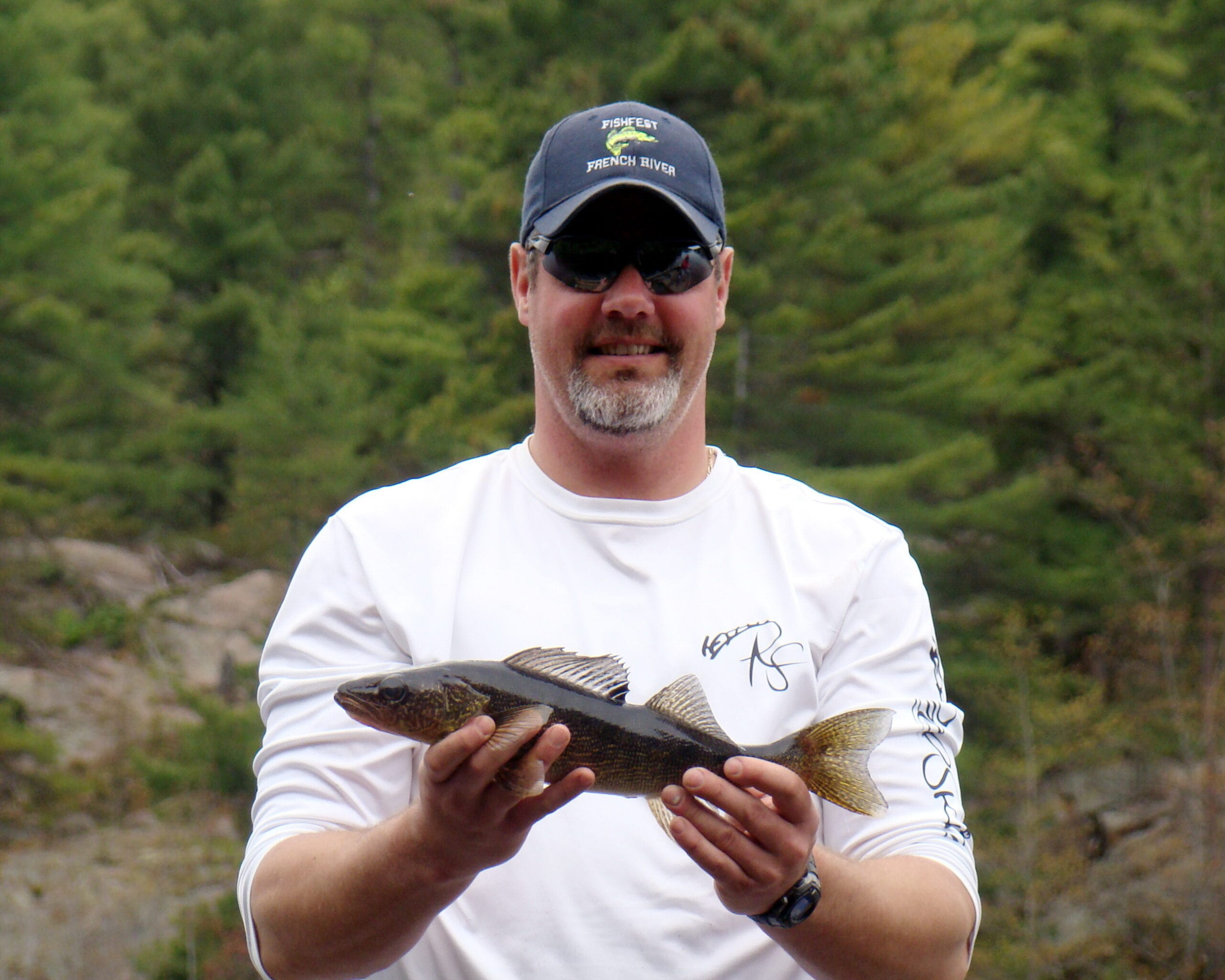 yearling French River walleye
