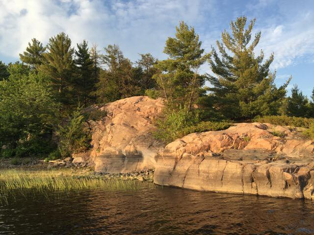 Scenery that can be found on the Lower French River Delta of the French River Provincial Park.