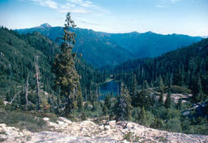 Lower Bear Lake, Marble Mountain Wilderness