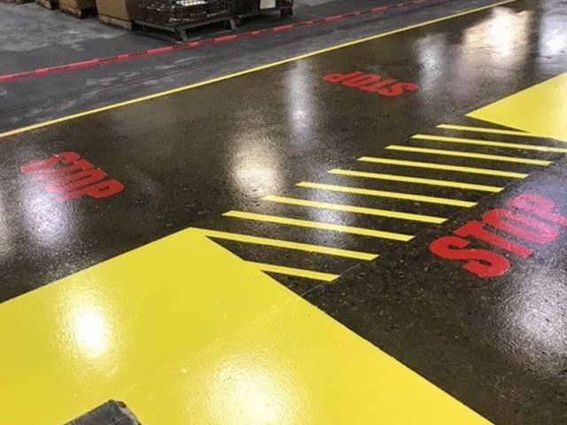floor safety markings