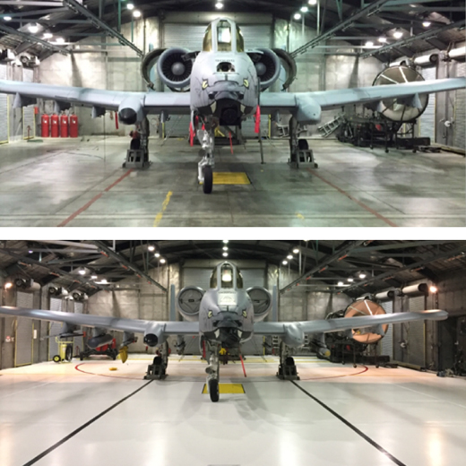 new-floor-in-hangar