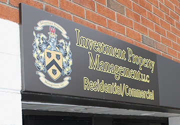 Investment Property Management Outdoor Sign