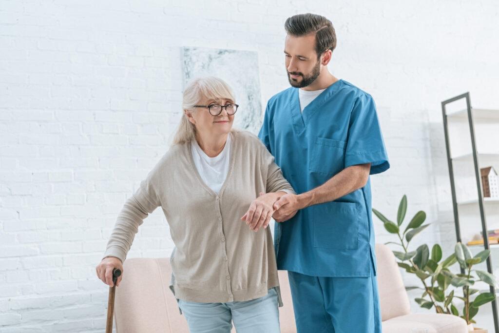 Receiving Care - Lovebird Senior Care